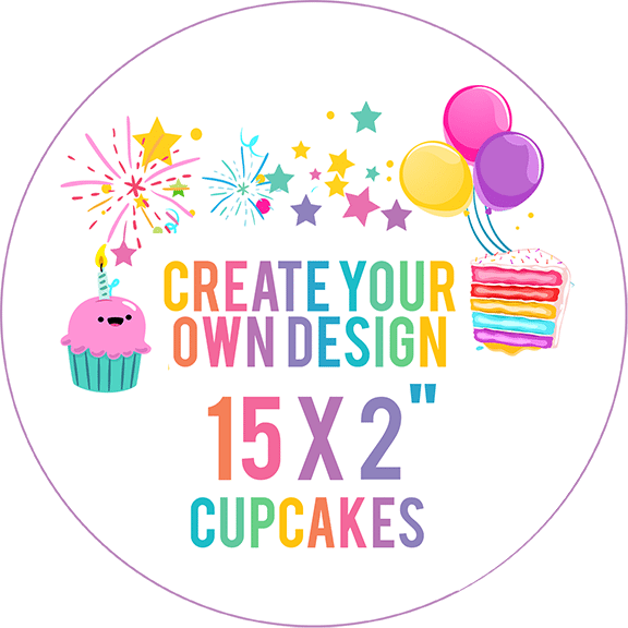 Design Your Own Edible Cupcake Toppers
