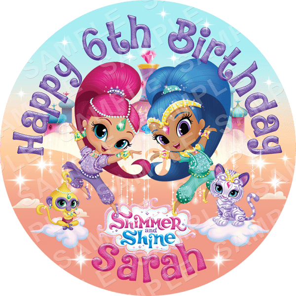 Personalised Birthday Cake Toppers Ireland