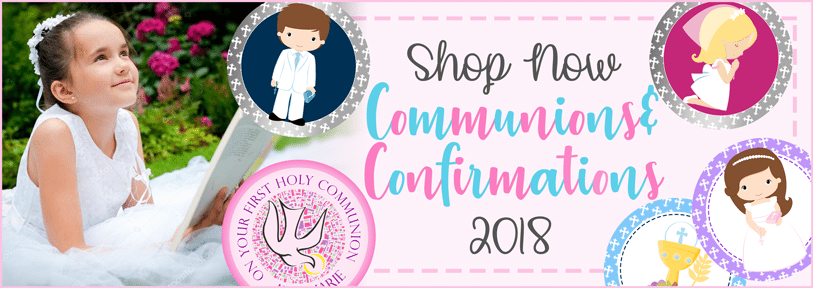 Communion Edible Cake Toppers - Confirmation Edible Cake Toppers - Edible Cake Toppers Ireland