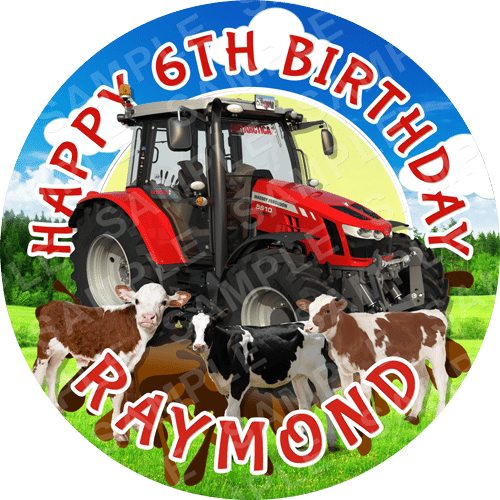 Tractor Archives Edible Cake Toppers Ireland
