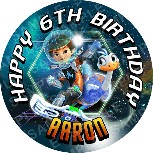 Miles from Tomorrowland Edible Cake Topper - Miles from Tomorrowland Edible Image - Round