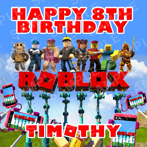 Roblox Archives - Edible Cake Toppers Ireland - Personalised