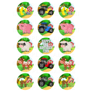Farm Animals Tractors