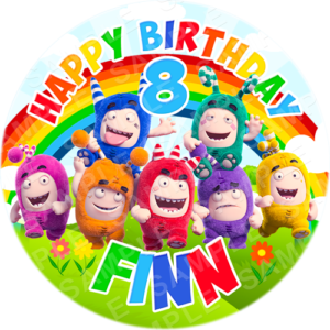 Toy Story Edible Cake Topper Personalised Printed Edible Image